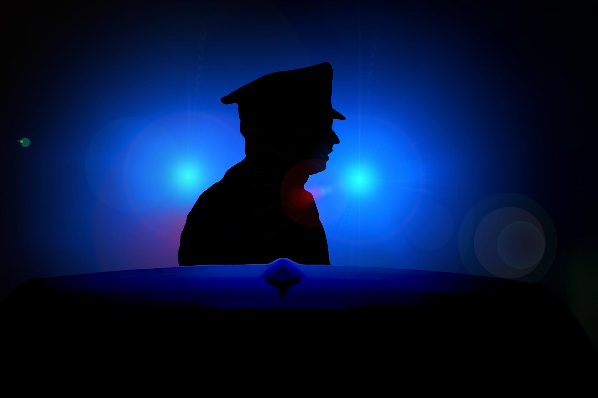 Policjant z KPP Bełchatów